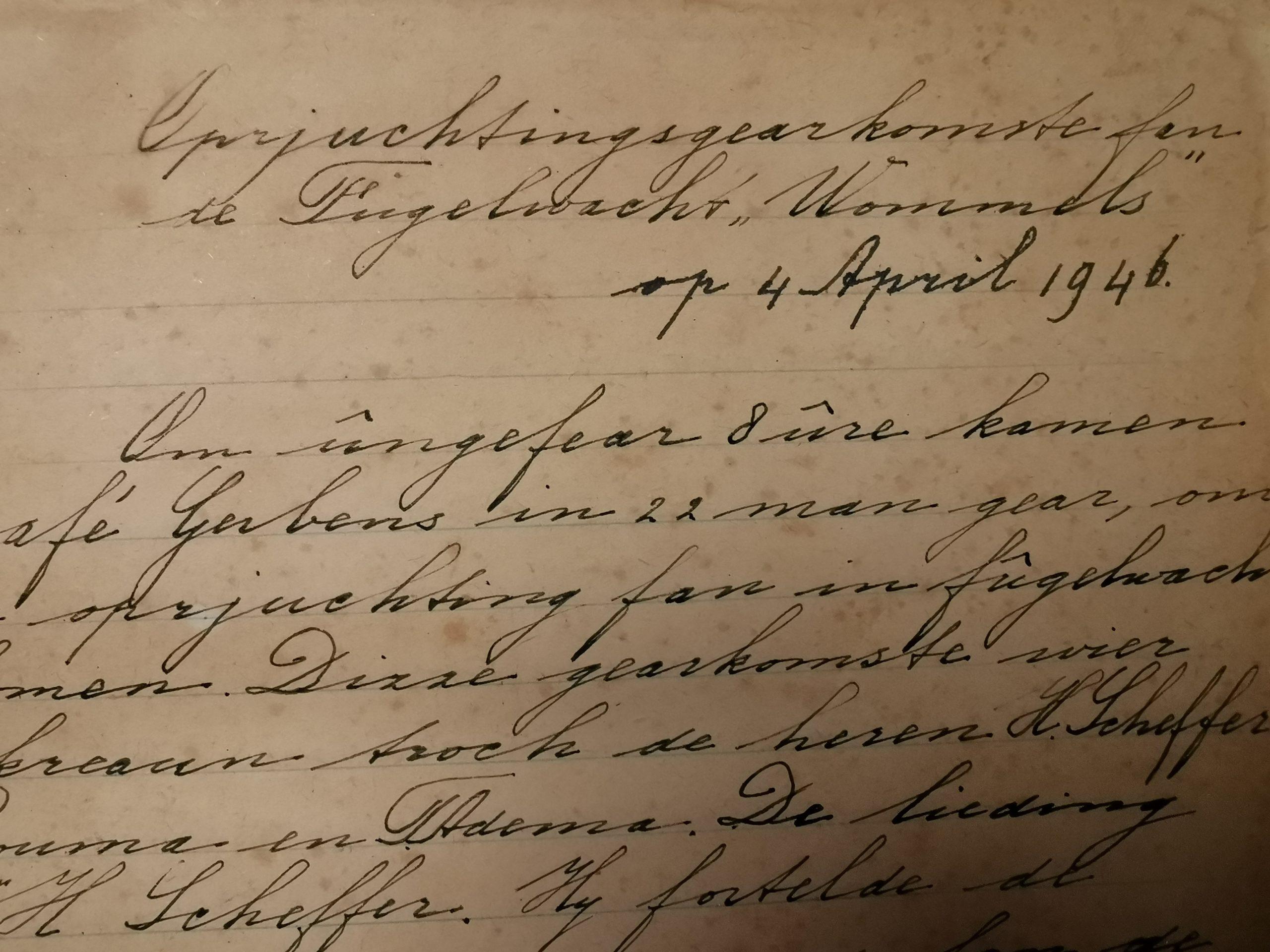 Digitaliseren Oude Notulen En Jaarverslagen